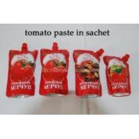 China Tomato paste in sachet wholesale
