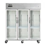 Wholesale B2 three big door showcase from china suppliers