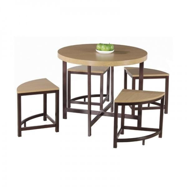 Modern Round Dining Table Set For Sale of item