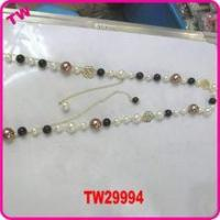 China latest beads necklace new model fancy necklace chain design wholesale