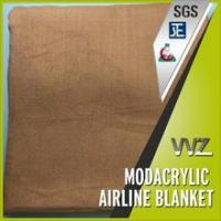 China JACQUARD AIRPLANE BLANKET IN THE CLASSICAL FLOWER DESIGN wholesale