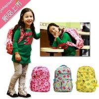 promotional children school bag pink PU shoulder bag school bag