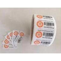 Buy cheap Customized die cut Label printing,custom labels,barcode label sticker from wholesalers