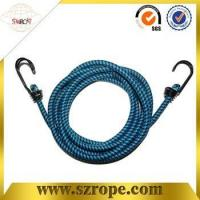 China good quality bungee cord with double metal hook Pass 88LBS test wholesale