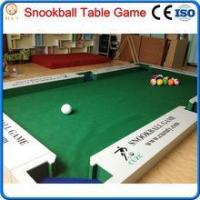 China 2016 new game snooker ball table,billiard soccer ball game wholesale