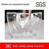 China non branded shopping bags Fashion Clear PVC Bag Tote bags wholesale