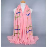 China Custom embroidered scarves wholesale