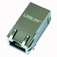 China ARJ11F-MASF-AB-A-FL2 RJ45 10/100/1000 Base-T Jack With Magnetic Module wholesale