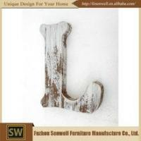 China Made In China New Product Capital Letters Wood Pieces wholesale