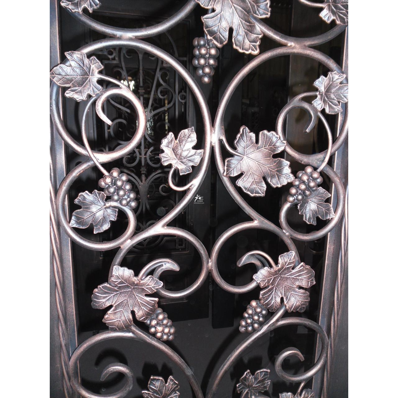 China Iron door-Grapes and wines wholesale