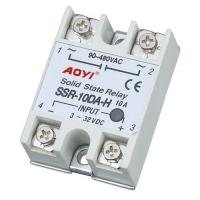 China Solid State Relay Single Phase solid state relay SSR-10DA-H on sale