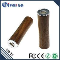 China Best quality wooden mobile power bank 2600mAh wholesale
