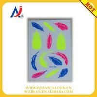 New glow in the dark metallic temporary tattoo stickers with fluorescence