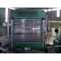 Buy cheap 131618116 HCN-3*6/400T plywood hydraulic hot press machine from wholesalers