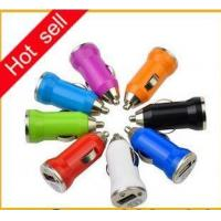 China PA010 Hot selling car charger for mobile phone mini usb car charger 5v 1A wholesale
