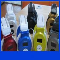 China E011 Stereo Headphone MP3 Player Headset TF Card and Music Play Headset style Mp3 Player wholesale