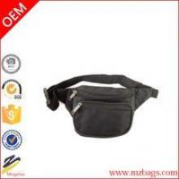 China New Black Waist Fanny Pack Belt Bag Pouch Travel Sport Hip Purse wholesale