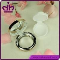 China BB cream case air cushion empty compact cosmetic case with mirror wholesale