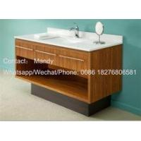 China hotel bathroom cabinet hot sell wooden cabinet vanity wholesale
