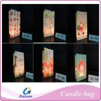 Wholesale Fire-resistant paper candle bag from china suppliers