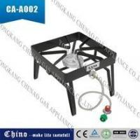 China Outdoor Portable Single Propane Burner, Camping Square Stove Gas Patio Cooker wholesale