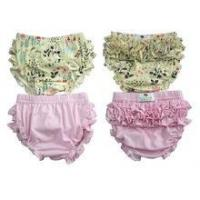 China Fashion style floral bloomers high quality toddler girls bloomers high quality ruffle bloomers wholesale