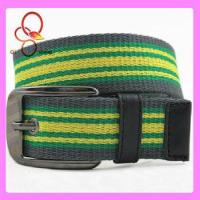 China Fashion Neon Strap Metal Canvas Belt wholesale