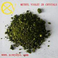 China Basic MethylViolet2B Crystals / Powder C.I.BasicViolet1 wholesale