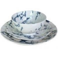China Marble Texture Ceramic Tableware Set With Bowl,Dinner Plate,Side Plate wholesale