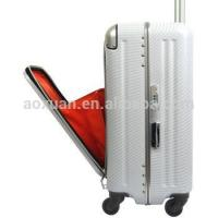 China aluminum frame suitcase aluminum frame luggage abs pc luggage wholesale