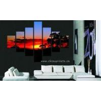 China Sunset Scenery Design Painting/Home Decor Wall Hanging/Beautiful Scenery Wall Painting wholesale