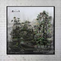 New Arrival Popular lanscape design handmade wash painting from shenzhen Dafen