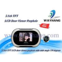China and Industry security system 2.5ch TFT LCD door viewer peephole WH-700 on sale