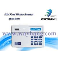 China and Industry security system GSM Fixed wireless terminal/GSM dialer WH-G1 on sale