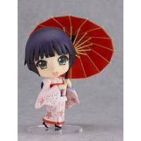 China Customize japan resin lovely girl doll with umbrella kid toy or home decoration wholesale
