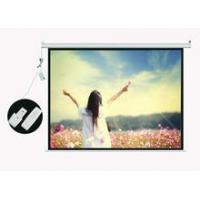 Wholesale Front motorized 80 projector screen from china suppliers