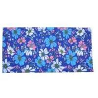 China Lady fashion beautiful flower printed seamless bandana wholesale