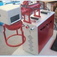 China Hand Held Portable Fiber Laser Marking Machine For Meta Products Processing 20w wholesale