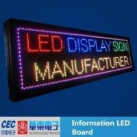 Wholesale Full Color led scrolling display from china suppliers