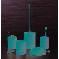 Wholesale White color polyresin bathroom accessories from china suppliers
