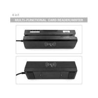 Quality ZCS80 ISO Qualified USB/RS232 4-in-1 Magnetic/IC/RFID/PSAM Reader Writer for sale