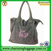 China Cotton tote bag High Quality Large Classic Waxed Canvas Tote Bag wholesale