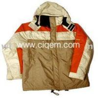 Buy cheap Coats men_s woven casual garments outerwear leisure jacket from wholesalers