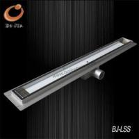 China F Series stainless steel linear floor waste BJ-LSF- TG01 wholesale