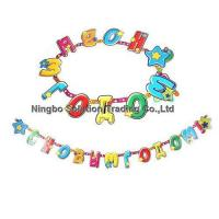 China Handmade Paper Letter Banner for Kids Birthday Decoration(PLB-019) wholesale