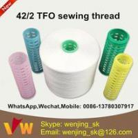Wholesale 42s/2 semi-dull sewing thread manufacturer in indonesia for jeans from china suppliers