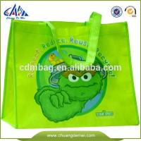 China eco green custom printed tote bags wholesale