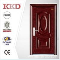 China Luxury Steel Security Door KKD-205 With Steel 3D Panel And Convex From China Manufacture wholesale
