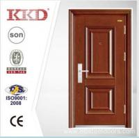 China New Design Steel Security Door KKD-202 With Mosa/Matte Paint and Steel Convex/Carved wholesale