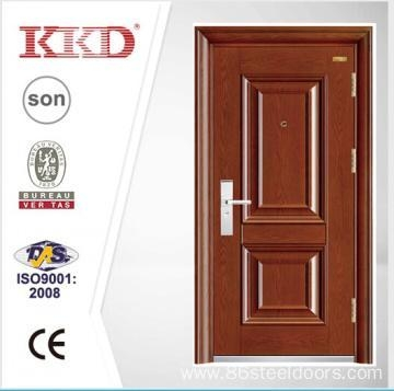 Quality New Design Steel Security Door KKD-202 With Mosa/Matte Paint and Steel Convex/Carved for sale